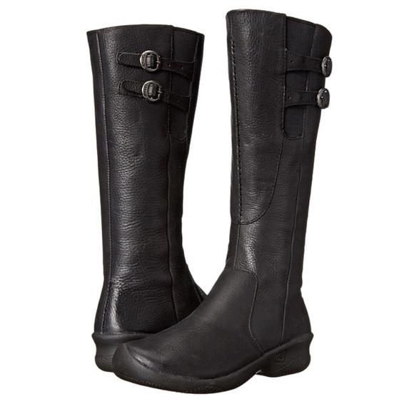 e7e64c538a75 Keen Shoes - Keen Bern Baby Bern Tall Wide Calf Leather Boots